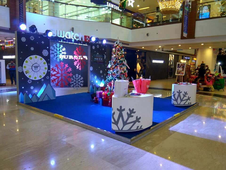Swatch Mall Activation